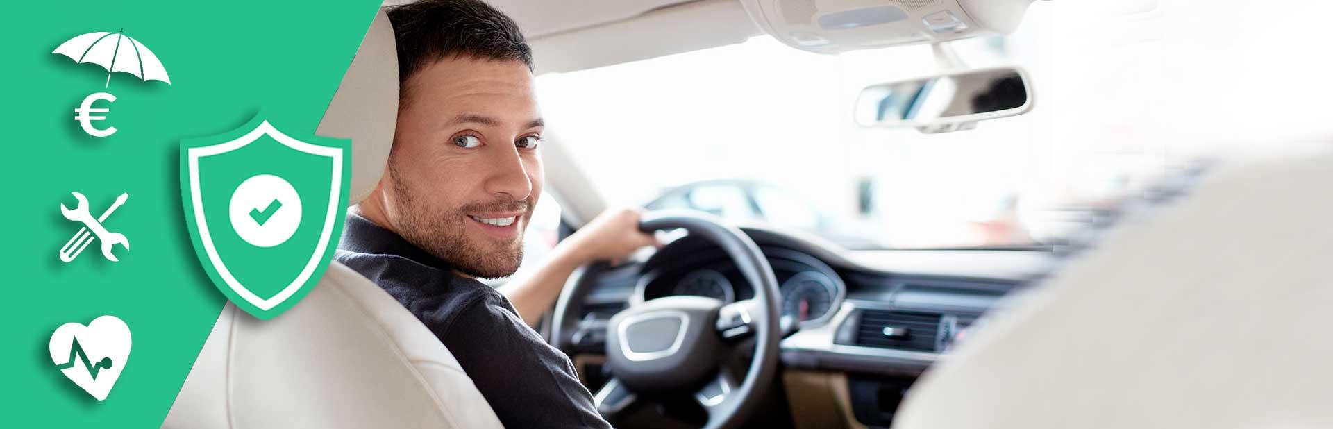 Nos garanties disponibles pour votre véhicule par Click&Lease
