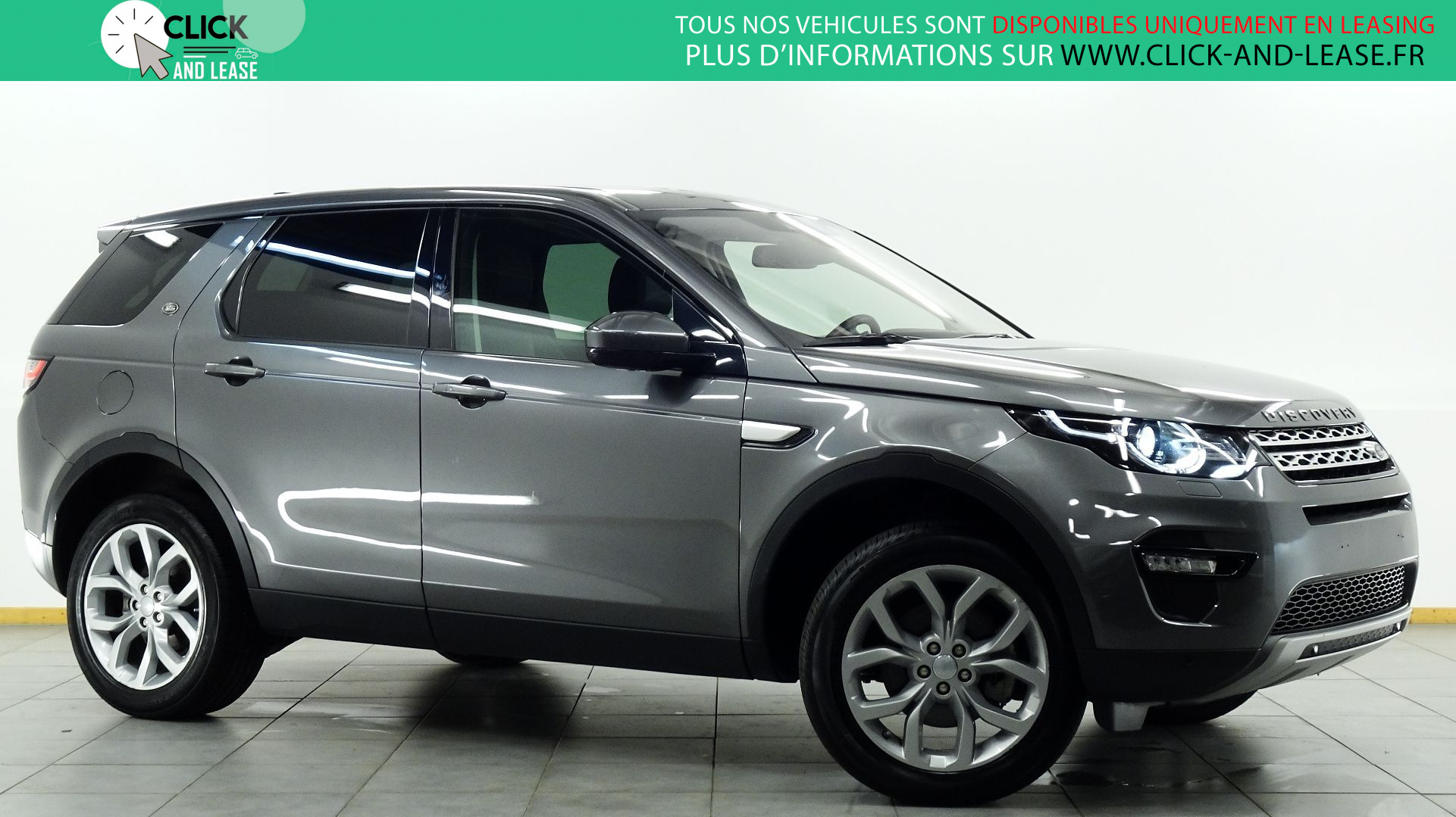 LAND-ROVER DISCOVERY SPORT 2.0 TD4 180CH HSE AWD BVA MARK IV en leasing chez Click and Lease