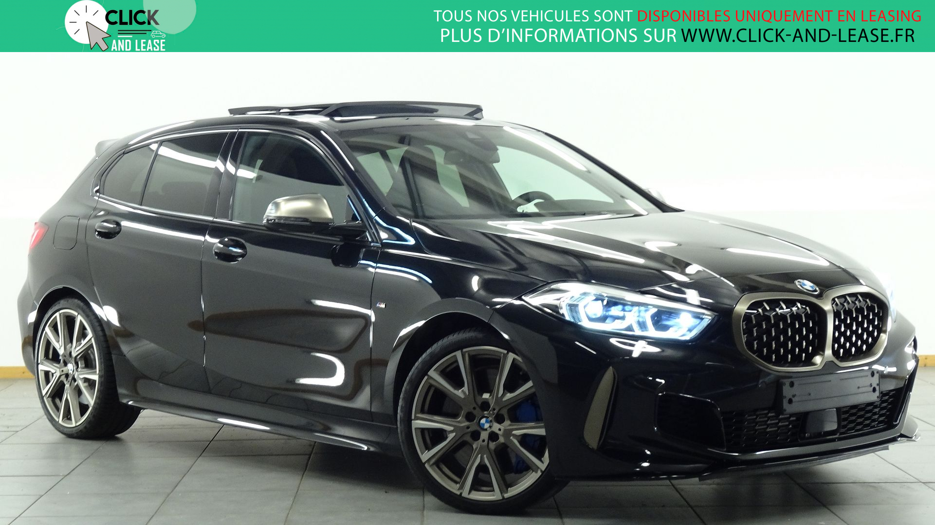 Nouvelle BMW SERIE 1 (F40) M135IA XDRIVE 306CH en leasing chez Click and Lease